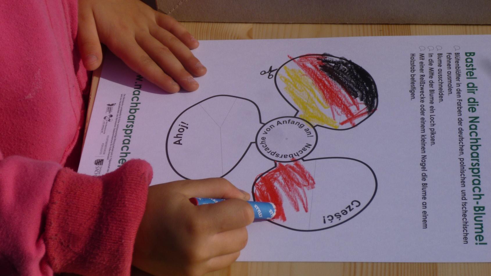 Bild Kind malend